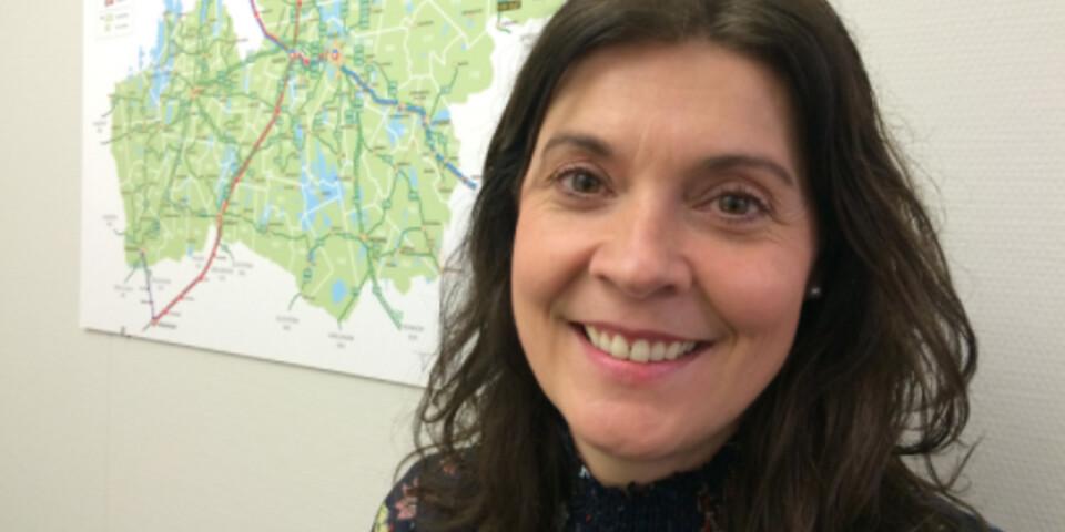 Julija Markensten, tillförordnad trafikdirektör och marknadschef för Länstrafiken Kronoberg.