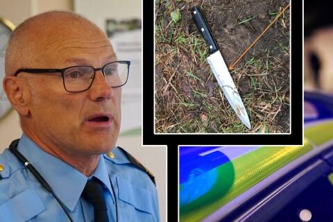 Knivbrott ökar kraftigt i Borås – utvecklingen oroar polischefen