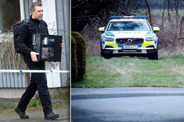 Mordmisstänkt förnekar brott – polisen har tagit hans saker i beslag
