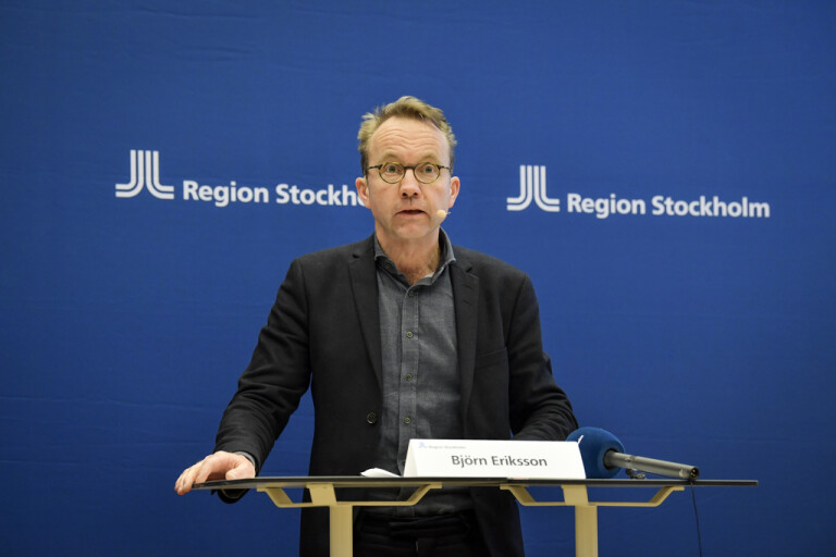 Stockholm redo att använda fältsjukhuset