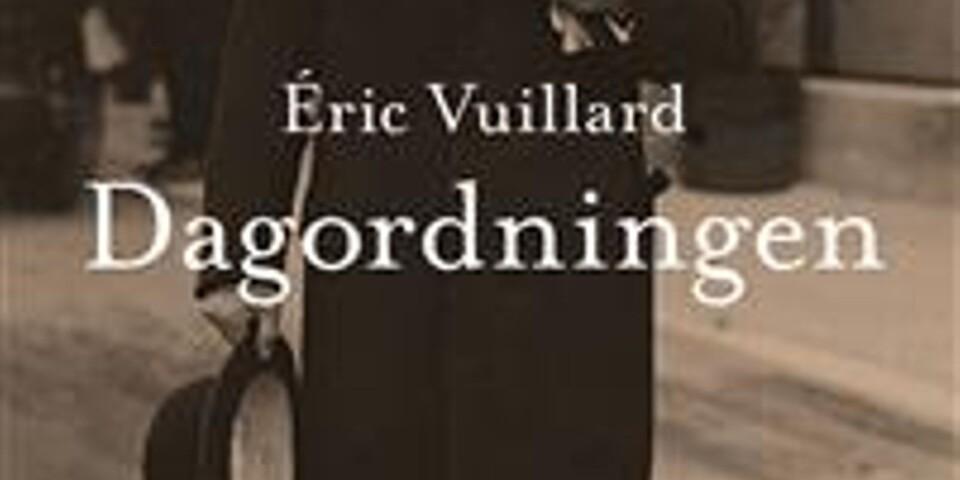 """Éric Vuillards """"Dagordningen"""""""