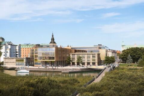 Stadskärnan: Högskolan ett steg närmare flytt till centrum