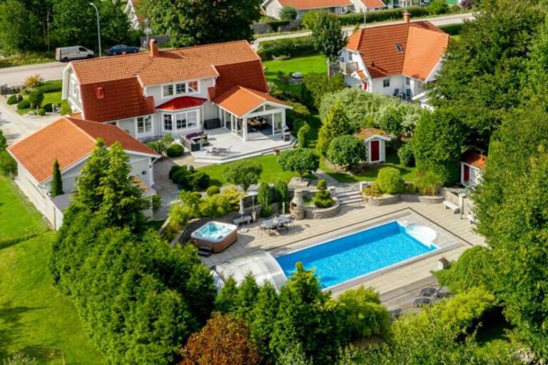 Lyxig villa för 7,5 miljoner Växjös hetaste bostad