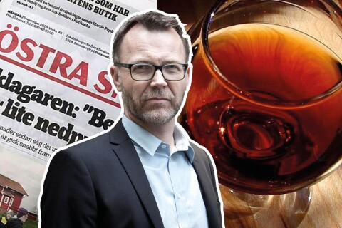 """Ingen journalist minns längre hur finkonjaken smakade"""