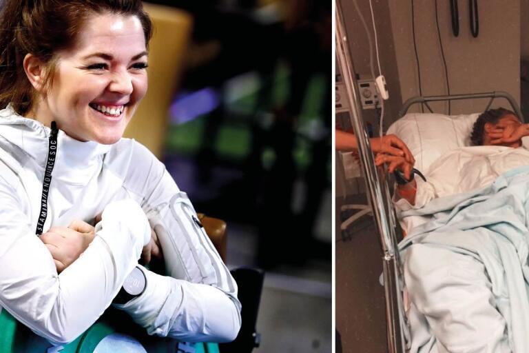 Elin kraschade på Ironman – anmälde sig igen dagen efter