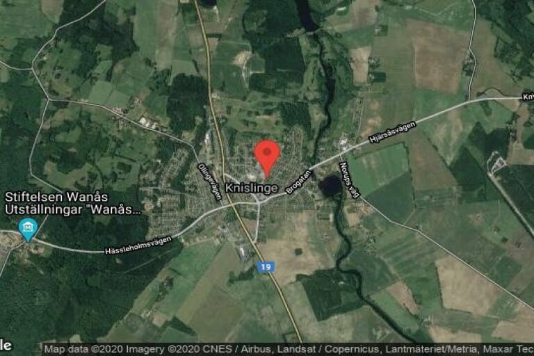 Huset på Bygatan 18 i Knislinge sålt igen – andra gången på kort tid