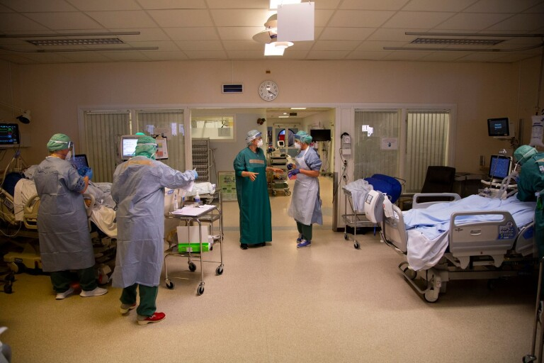"""Covid-sköterskornas nya lönekrav: """"En utsatt situation"""""""