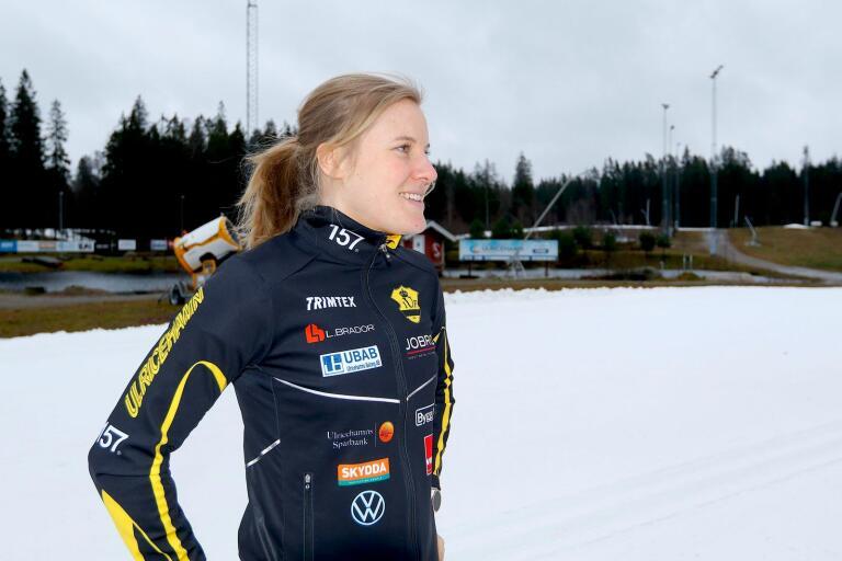 Hanna Falk har flyttat hem till Ulricehamn, så att hon skulle stanna i UIF var kanske inte någon högoddsare.