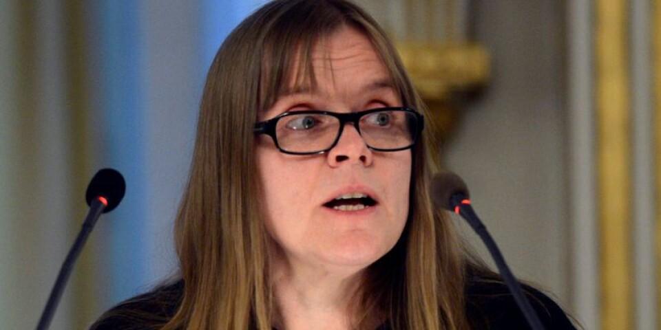Lotta Lotass lämnade Svenska Akademien 2015, något som inte har varit känt. Först nu berättar hon varför.
