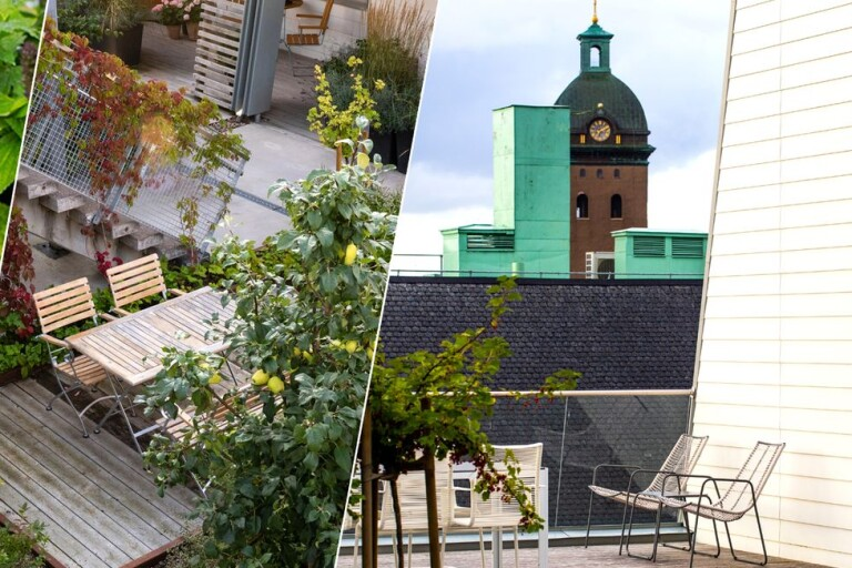 Bildextra: Ta en titt på exklusiva takterrassen – mitt i Borås