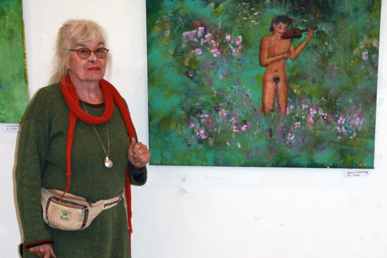Retrospektivt måleri av Anne-Marie Brännström