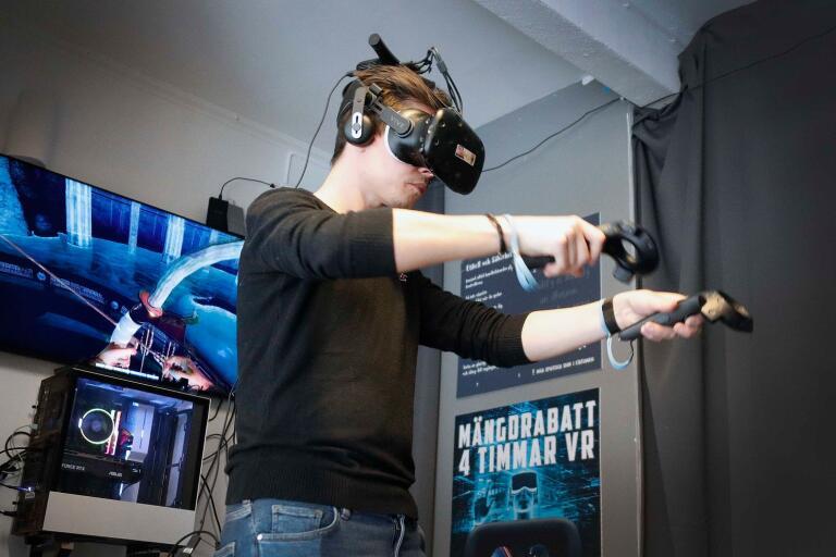 """Linus Petersson: """"Det här är inget tv-spel – Det är en upplevelse"""""""