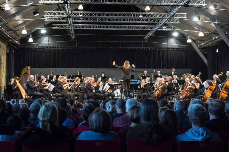 """Ulf Wadenbrandt dirigerar Borås symfoniorkester i konserten """"High score"""", som fokuserar på välkänd konstmusik från spel-, film- och tv-serievärlden."""