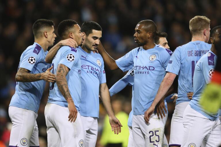Manchester City-spelarna kan snart vara tillbaka på fotbollsplanen. Arkivbild.