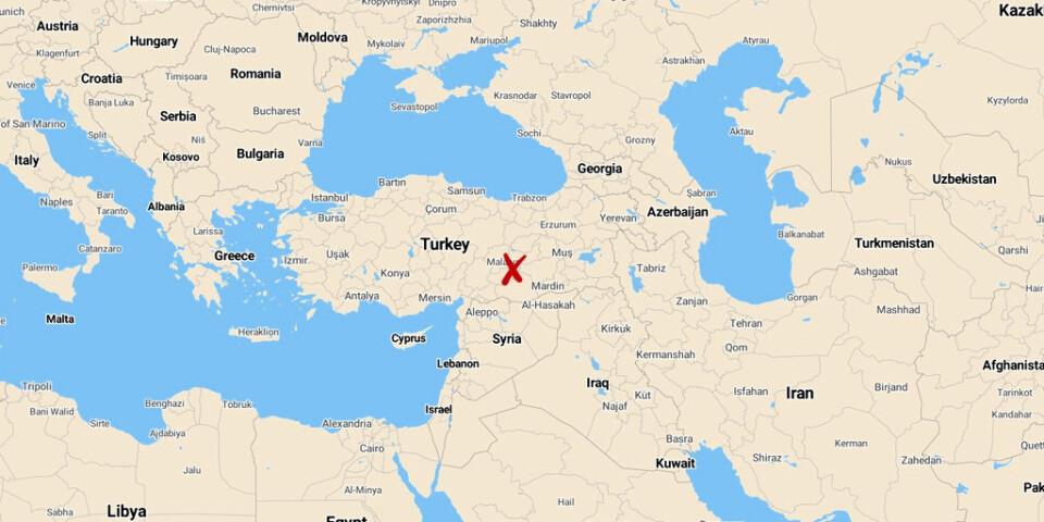 Ett jordskalv har ägt rum i östra Turkiet.