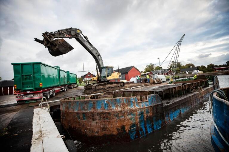 Muddring i småbåtshamnarna kostar 36 miljoner
