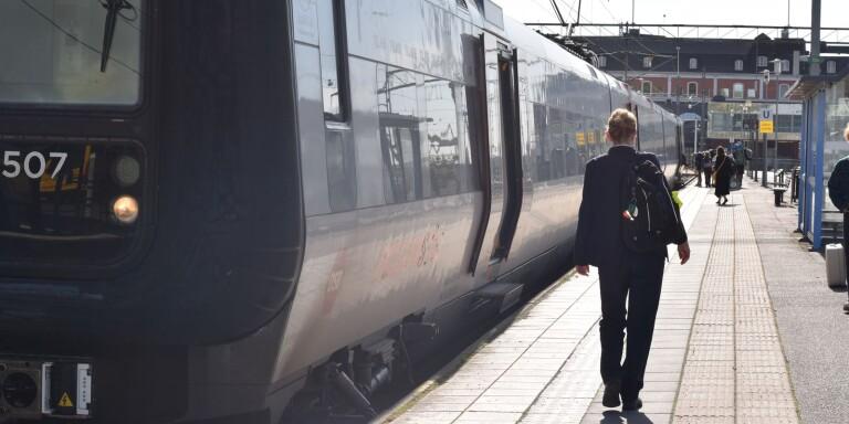 Stopp i tågtrafiken till och från Kalmar