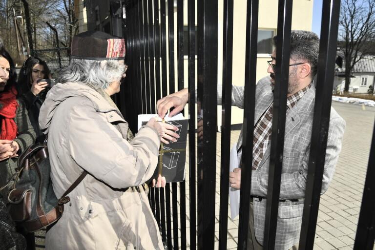 45000 personer kräver att Djalali friges