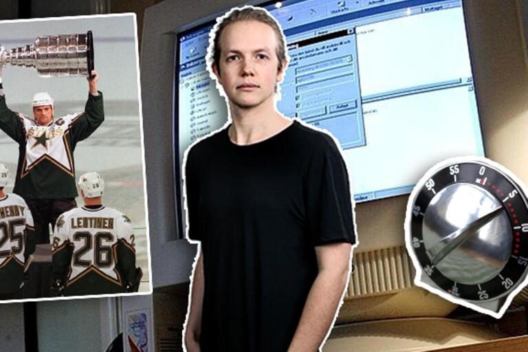"""Anton Lernstål: """"En ljusgrå äggklocka höll koll på mig"""""""