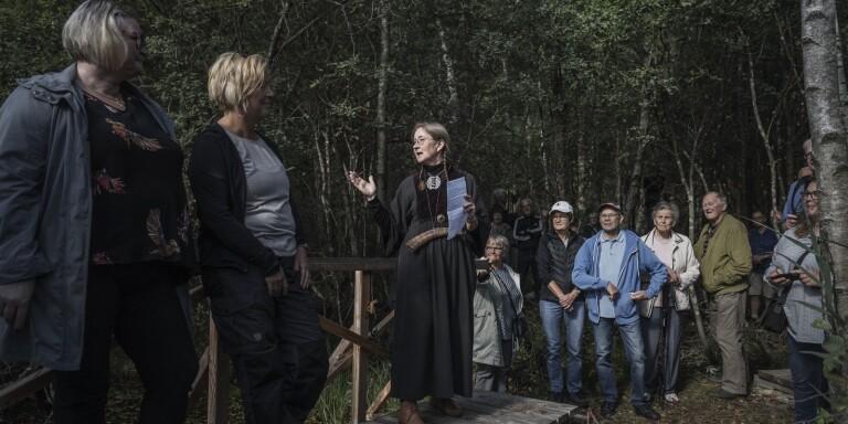 """Hövdingamöte vid invigning av efterlängtad gränsbro: """"En symbolisk händelse på många sätt"""""""