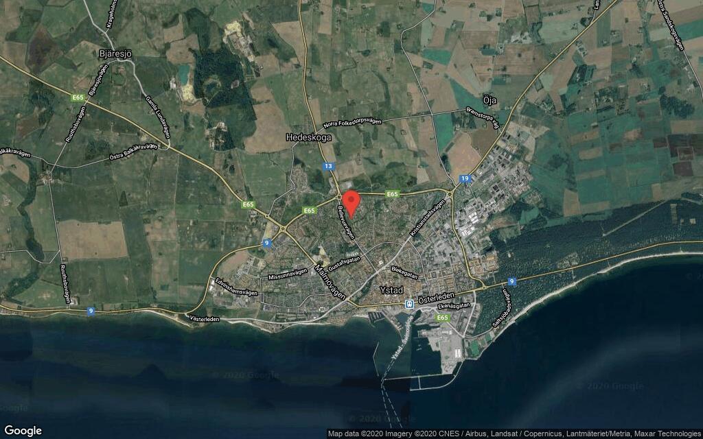 142 kvadratmeter stort kedjehus i Ystad sålt för 2200000 kronor