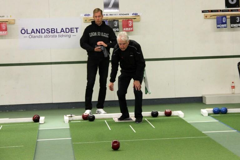Ingvar Nelson, Borgholm, vann placeringstävlingen ( B-stege ).