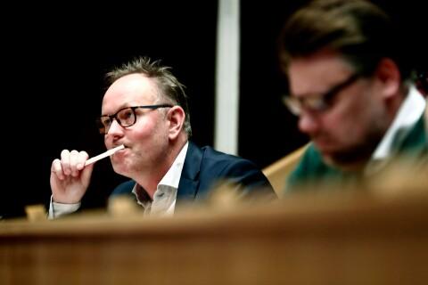 Persson: Alfsson har fel – jag är inte arg