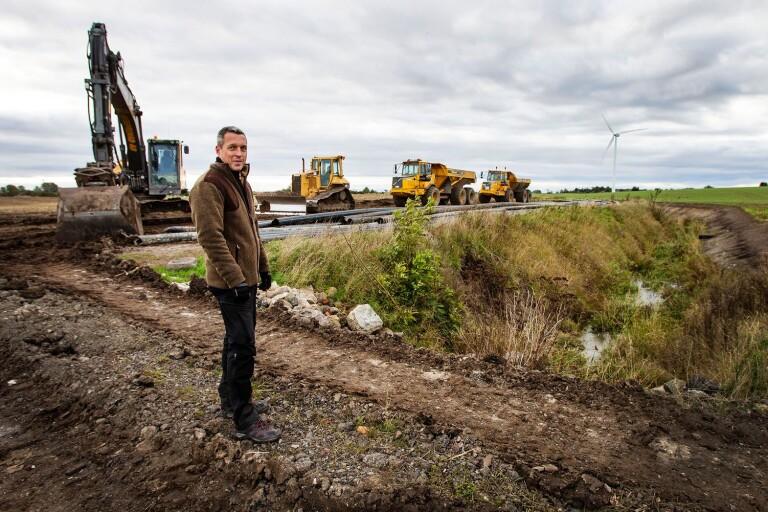 """Här förvandlas Söderslätts landskap – """"Kommer att bli en lång grön korridor"""""""
