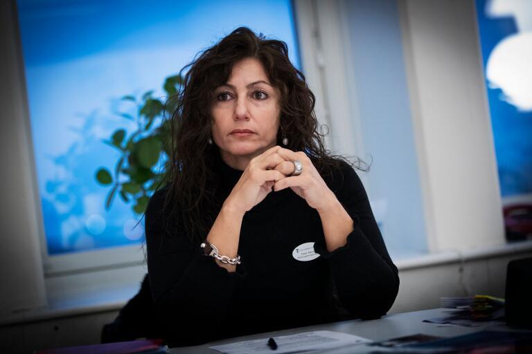 Ester Alavei, förvaltningschef på bildningsförvaltningen.