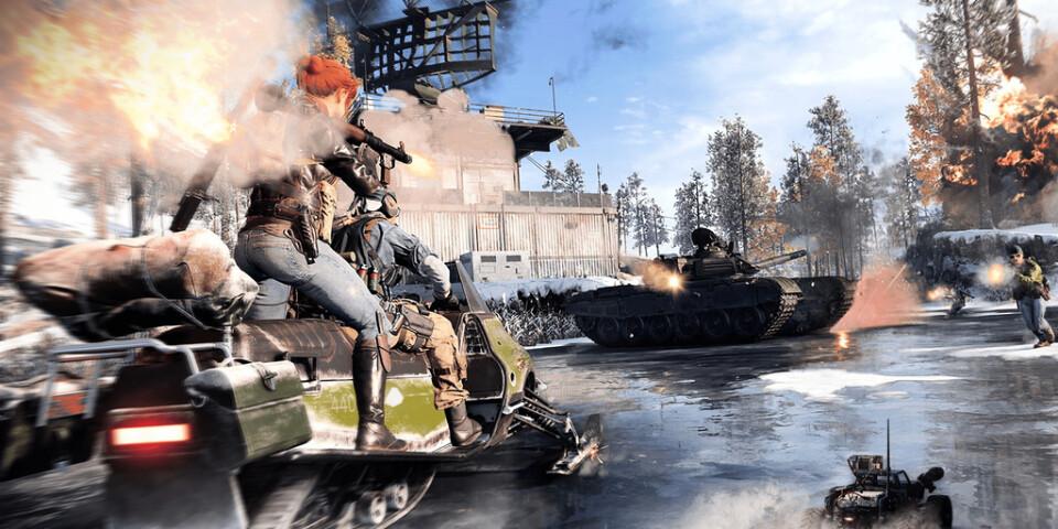 """""""Call of duty: Black ops cold war"""" innehåller såklart ett fartfyllt flerspelarläge också. Pressbild."""