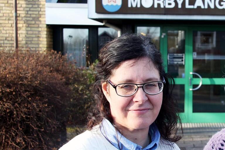 Kommundirektör Ann Willsund företräder Mörbylånga kommun i tvisten med Salman Investments AB.