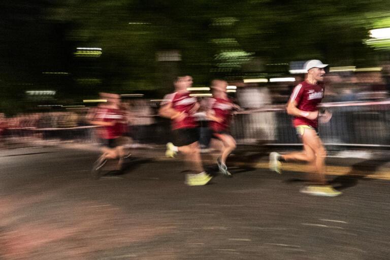 Midnattsloppet kommer i år inte att kunna genomföras under normala förhållanden. Arkivbild.