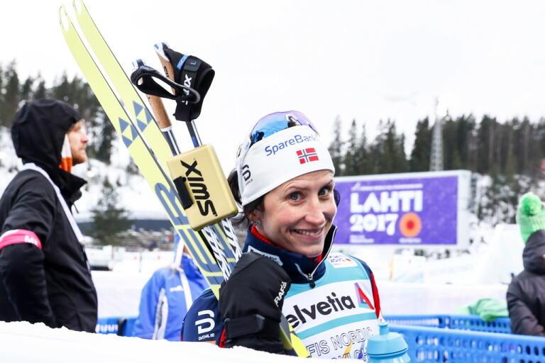 Marit Bjørgen satsar på Vasaloppet nästa år. Arkivbild.