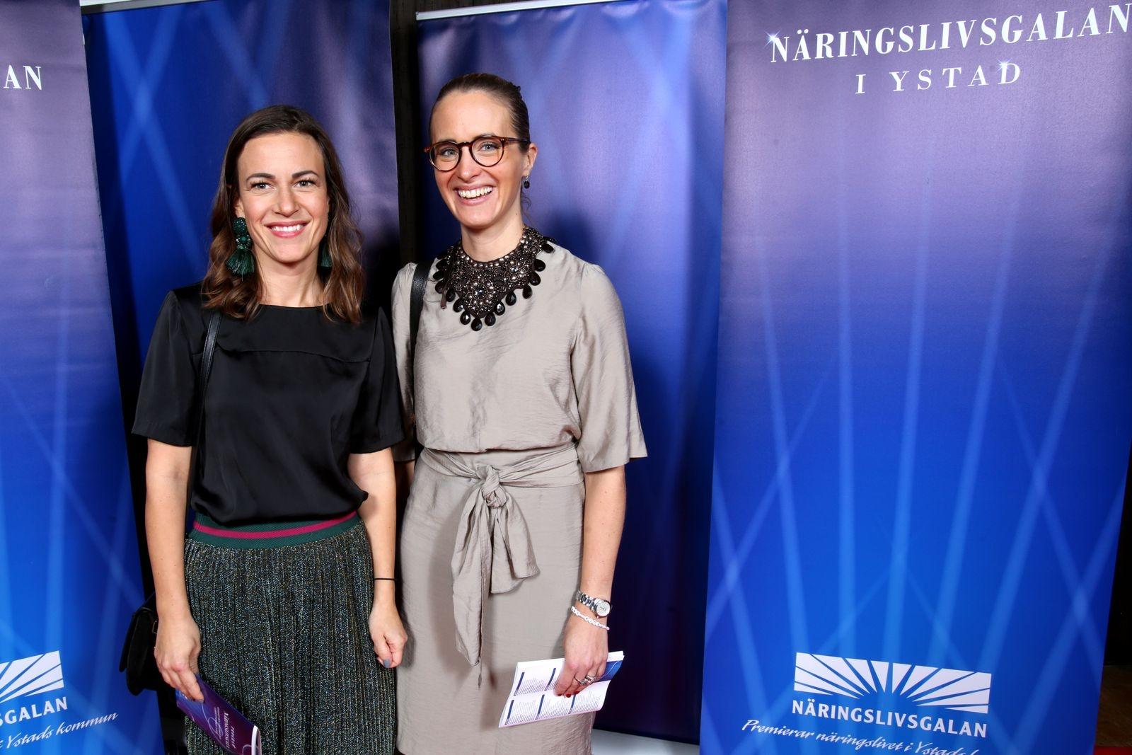 Caroline Alwén och Linn Glimeus, SEB