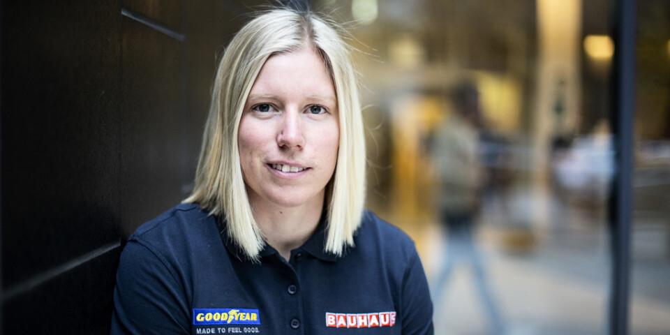 Sandra Näslund. Arkivbild.