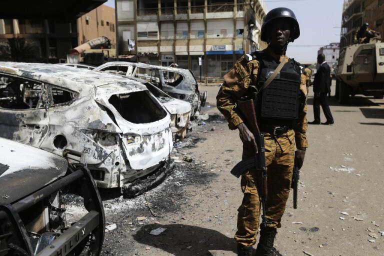 Inga våldsamheter vid Burkina Faso-valet