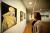 Okänd porträttmålare ställer ut på biblioteket