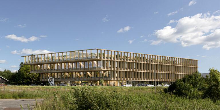 Boråsföretag får uppdraget att bygga Viared Center