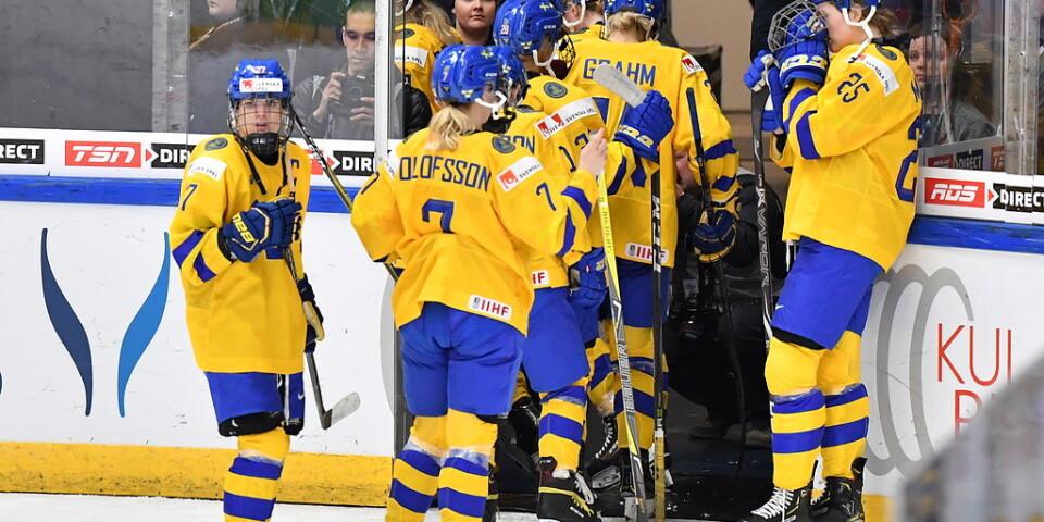 Efter ett misslyckat VM i våras ramlade Sverige ur A-gruppen. Nu går spelarna ut i en bojkott av landslaget. Arkivbild.