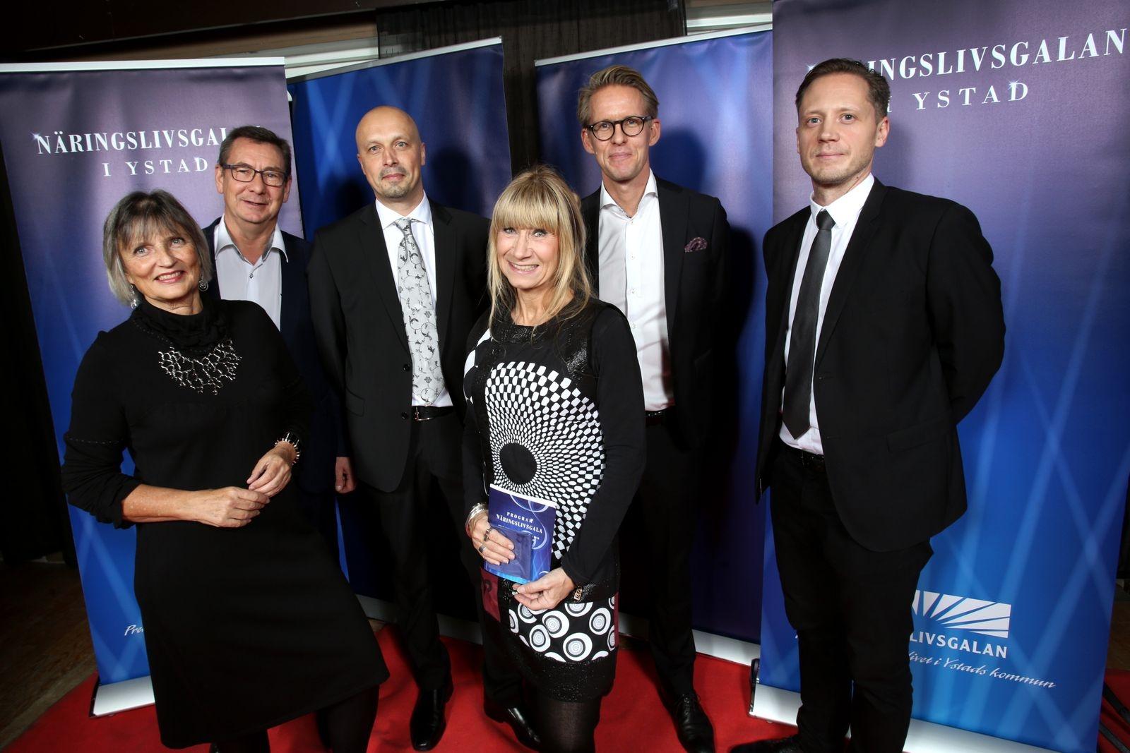 Kent Sandberg, Fredrik Paulsson, Ulla Andersson, Marie Lundh, Johan Fjelkner och Torbjörn Helldén, Sparbanken Skåne