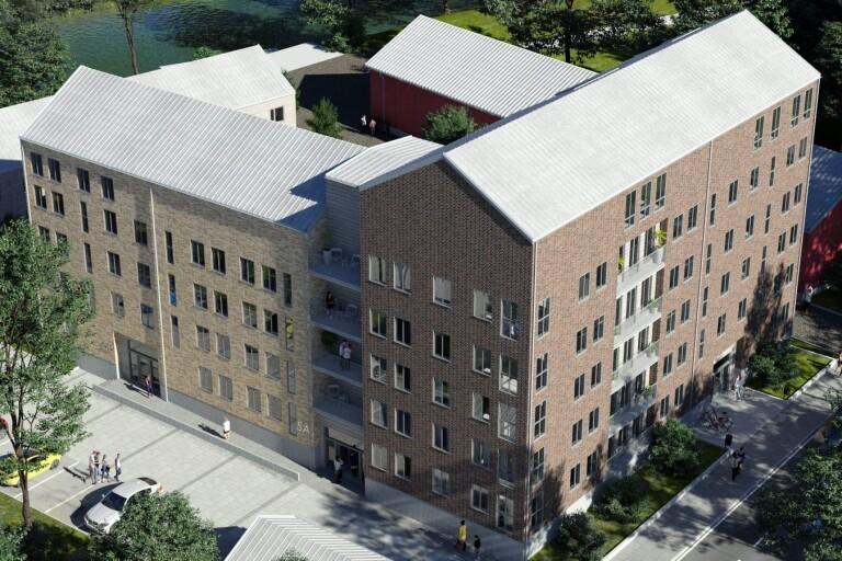 Planerade bostäder åter ute till försäljning