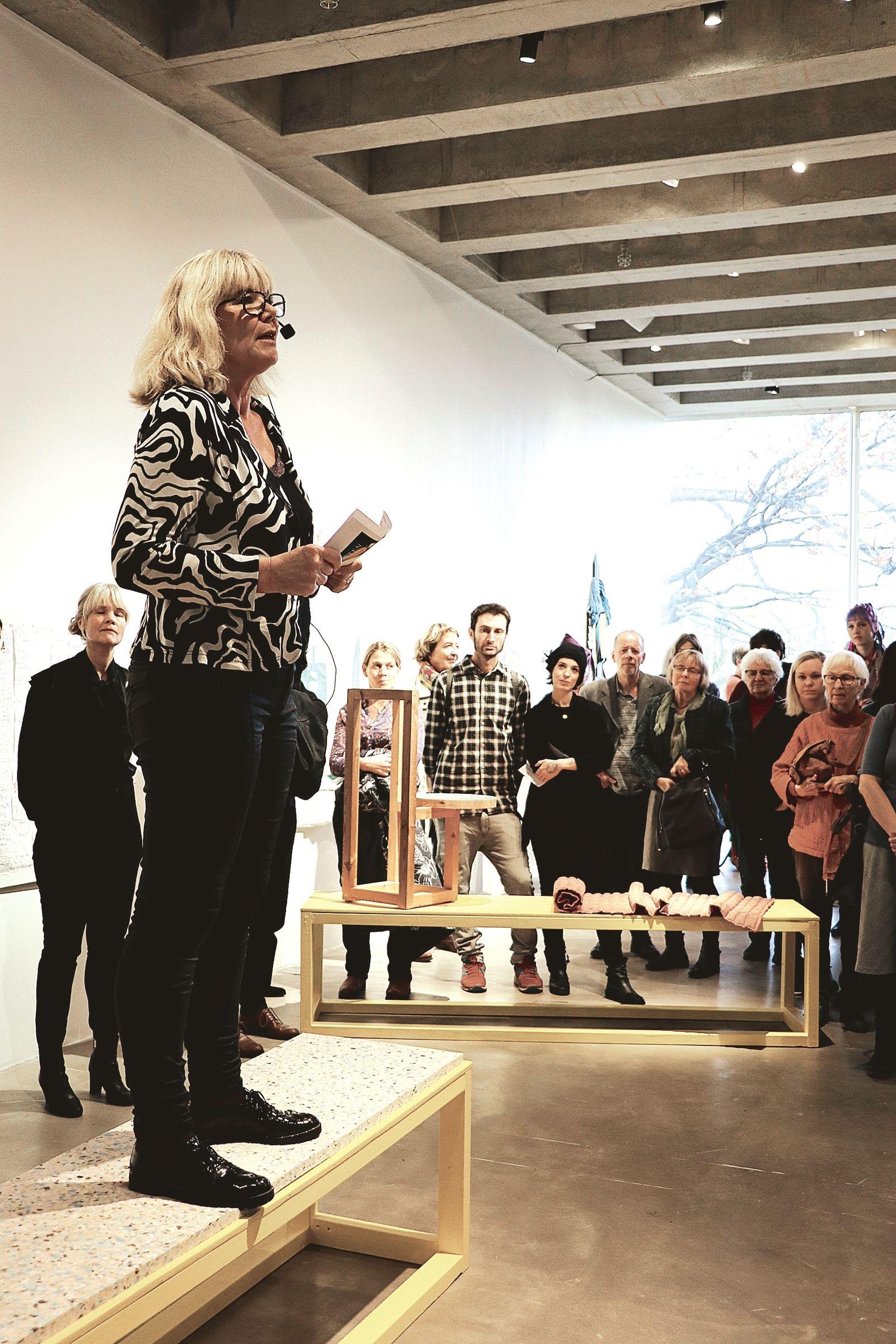 Malena Sandgren, enhetschef kultur- och bildningsenheten Region Blekinge, hade äran att inviga årets Sydosten.