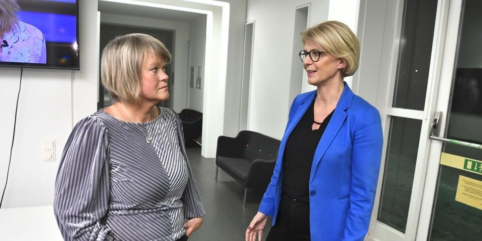 Ulla Andersson (V) och Elisabeth Svantesson (M) hade samma syn på januaripartiernas reformer.