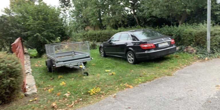 1.200 kronor i böter för denna parkering.