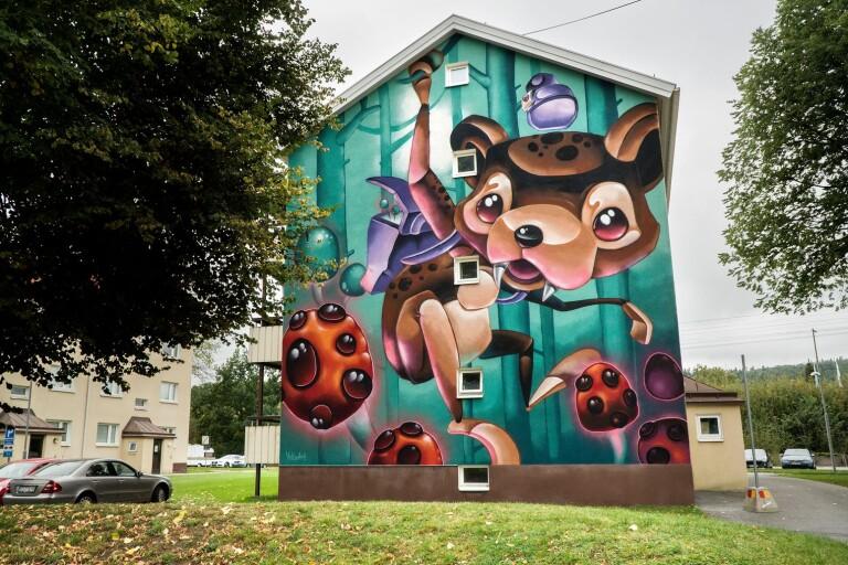 Street art på Norrby – det får ni inte missa
