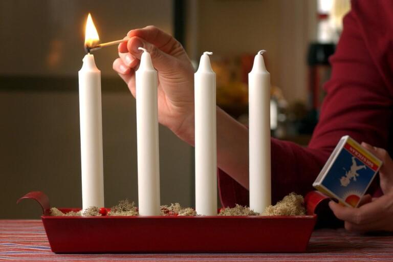 Första advent – och  längtan till  jul