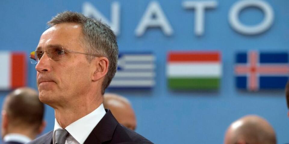 NATO generalsekreterare Jens Stoltenberg.