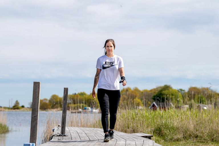 Ida Petersson har gjort elva säsonger i Karlskrona HK. Nu är karriären slut och istället börjar ett nytt kapitel med familjen på Hasslö.