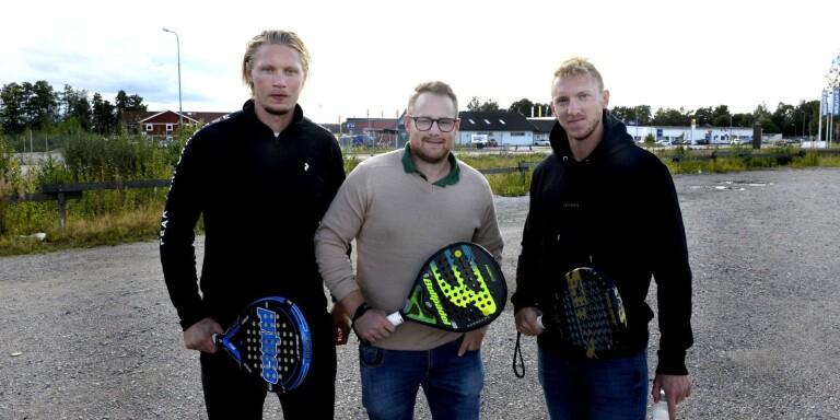 """Från hockeyrinken till padelhallen: """"Kul att satsa på vår hemby"""""""