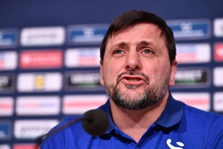 Ljubomir Vranjes är tillbaka i Sverige efter blixtvisiten i Slovenien.